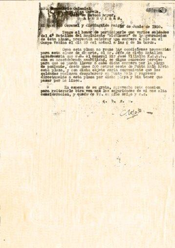 Solicitud de Gibraltar para una carrera por la Playa desde Punta Mala 1920