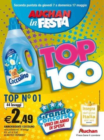 140515 - AUCHAN 31 - Auchan in festa - TOP 100