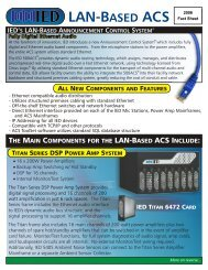 IED Digital ACS fact sheet