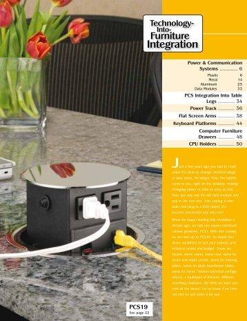 Technology-Into-Furniture Integration - Doug Mockett and Co.