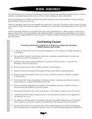 MCRUD Agreement - Michigan Coalition to Reduce Underage ...