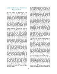 -1- VÀI GHI NHẬN VỀ NHÀ VĂN AN-KHÊ - Trang Nhà