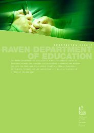Prospectus Sample - School of Educators