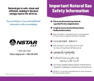 Smell of Gas - NStar