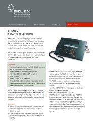BRENT 2 SECURE TELEPHONE