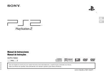 Manual de Instrucciones Manual de Instruções - Playstation