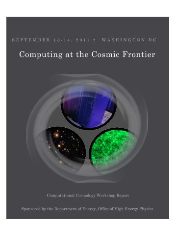 Computational Cosmology Report - Argonne National Laboratory