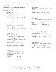 Precalculus Chapter 6 Worksheet Graphing Sinusoidal