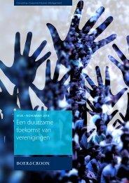 Een duurzame toekomst van verenigingen - VM Online
