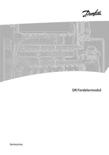DR Fordelermodul - Danfoss Redan A/S