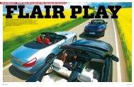 arrera S Vergleichstest BMW 650i, Mercedes SL 500, Porsche 911 ...