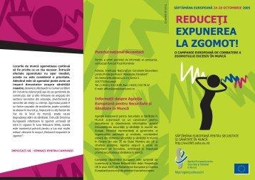 Disponibil in format PDF - Reduceţi expunerea la zgomot