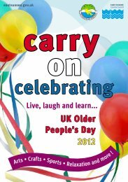 2012 Older People's Day events - East Sussex County Council