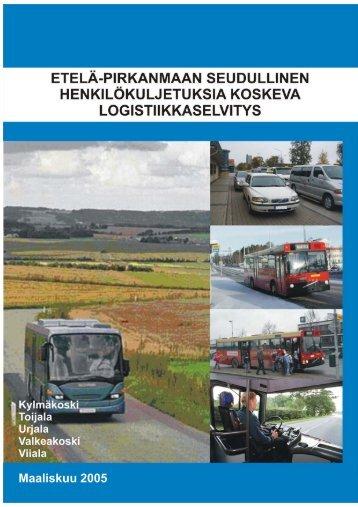 Etelä-Pirkanmaan seudullinen henkilökuljetuksia ... - Valkeakoski