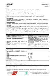 Specyfikacja techniczna (pdf 122 kB) - Europapier