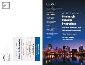 Pittsburgh Vascular Symposium - CCEHS