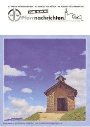 Pfn16 24. Jul 2011.pdf - Kath. Kirchengemeinde St. Patrokli