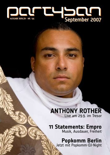 Anthony Rother - Partysan