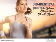 BHRT Treatment in Kansas City - Receive 20% OFF!