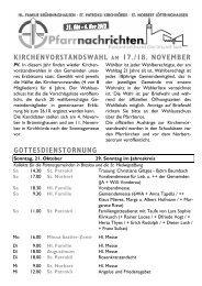 gottesdienstornung - Kath. Kirchengemeinde St. Patrokli