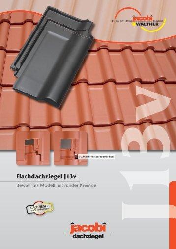 Flachdachziegel J13v - Jacobi Tonwerke GmbH