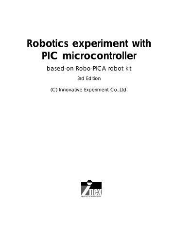 Robotics experiment with PIC microcontroller - SparkFun Electronics