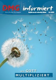 DMG-informiert 3/2015
