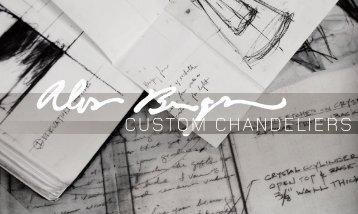 custom chandeliers - Holly Hunt