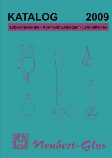 KATALOG 2009 - Neubert-Glas