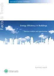 Energy Efficiency in Buildings - Development Center for Appropriate ...