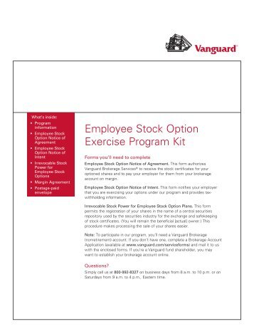 Stock options application