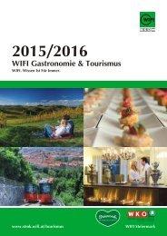 WIFI Gastronomie & Tourismus 2015 / 2016