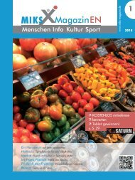 M I K S - Magazin EN Ausgabe 1/2015