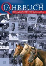 2006 DQHA Jahrbuch