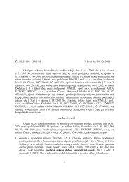 Rozhodnutí v PDF - Úřad pro ochranu hospodářské soutěže