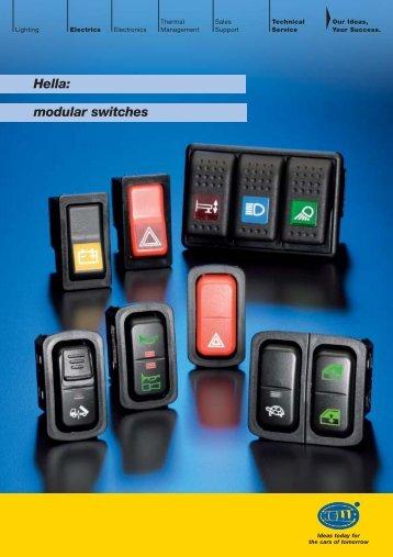 Hella: modular switches - hella.shop.hu