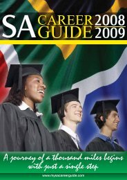 CAREER - My SA Career Guide