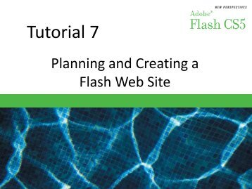 Flash CS5 Tutorial 7