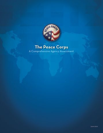 Comprehensive Agency Assessment - Peace Corps