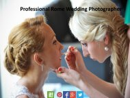 Professional Rome Wedding Photographer