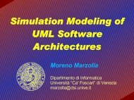 Simulation Modeling of UML Software Architectures - Moreno Marzolla