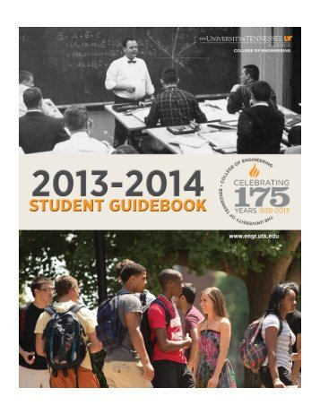 Student Guidebook 2013 (PDF) - College of Engineering - The ...