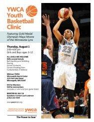 YWCA Youth Basketball Clinic - YWCA of Minneapolis