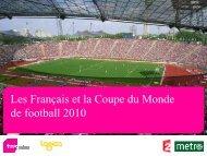 19PB63 - Sondage Coupe Du Monde - France 2 & Métro - TNS Sofres