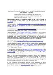 Portaria Interministerial No. 00329 de 10 de dezembro de 2009