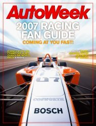 2007 fan guide - Autoweek