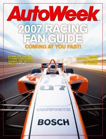2007 fan guide - Autoweek