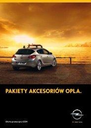 Opel - promocyjne pakiety oryginalnych akcesoriów (1/2011)