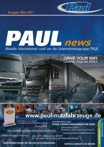 widespread chassis für holland - Paul Nutzfahrzeuge