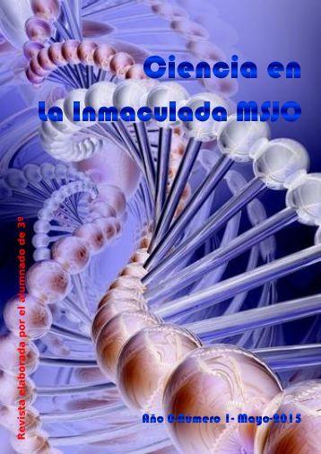Ciencia en La Inmaculada MSJO- Año 0 - Número 1